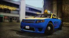 Cheval Fugitive Downtown Cab Co. Taxi para GTA San Andreas
