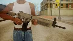 SIG-556 Patrol Rifle White para GTA San Andreas