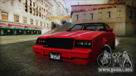 GTA 5 Willard Faction Custom without Extra IVF para GTA San Andreas