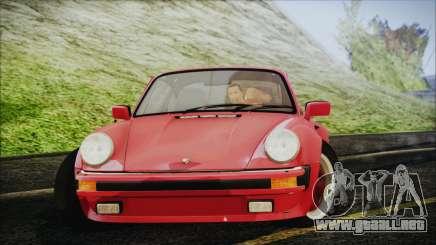 Porsche 911 Turbo 3.3 Coupe (930) 1986 para GTA San Andreas