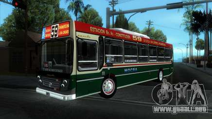 Ugarte Europeo MB OH1718L-SB Linea 59 para GTA San Andreas