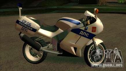 BMW R1200S de Motobot (DPS) para GTA San Andreas