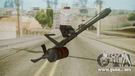 GTA 5 Flame Thrower para GTA San Andreas