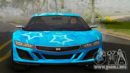 Dinka Jester (GTA V) Blue Star Edition para GTA San Andreas