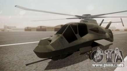 AH-99 Blackfoot para GTA San Andreas