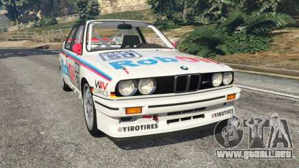 BMW M3 (E30) 1991 v1.2 para GTA 5