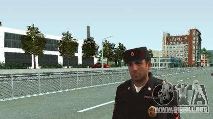 El Sargento de PPS en la forma de la nueva muestra para GTA San Andreas