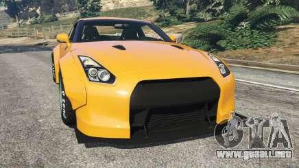 Nissan GT-R (R35) [LibertyWalk] para GTA 5