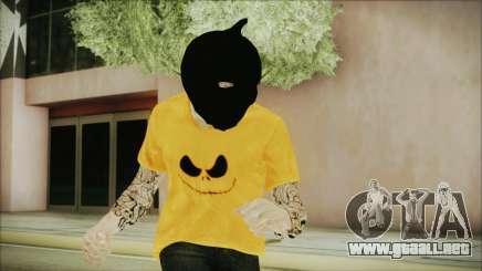 DLC Halloween GTA 5 Skin 3 para GTA San Andreas