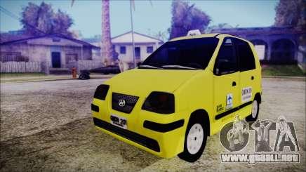 Hyundai Atos Taxi Colombiano para GTA San Andreas