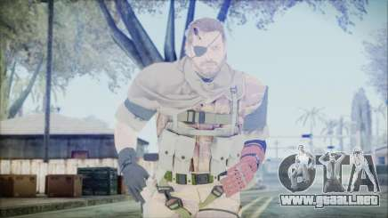 MGSV Phantom Pain Snake Scarf Golden Tiger para GTA San Andreas