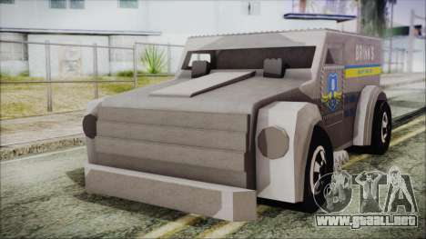 Hot Wheels Funny Money Truck para GTA San Andreas
