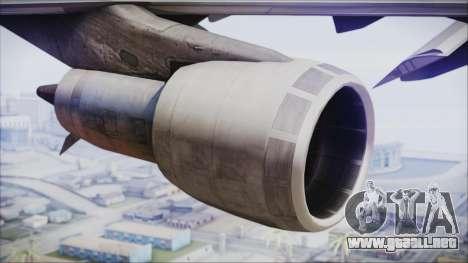 Boeing 747-237Bs Air India Harsha Vardhan para la visión correcta GTA San Andreas