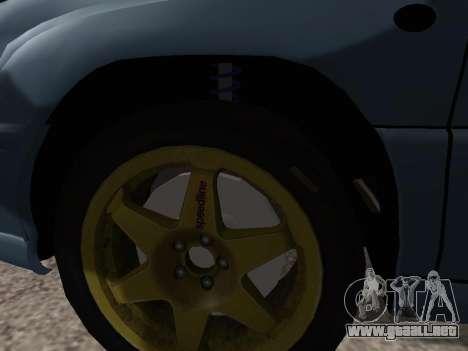 Subaru Forester 1998 para visión interna GTA San Andreas
