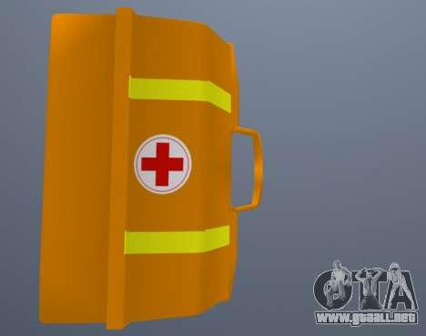 Kit De Primeros Auxilios para GTA San Andreas tercera pantalla