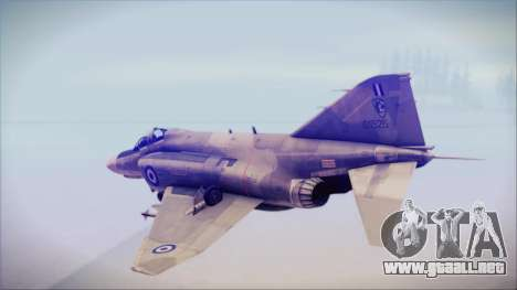 McDonnell Douglas F-4N Hellenic Air Force para GTA San Andreas left