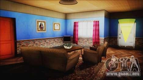 CJ House New Interior para GTA San Andreas quinta pantalla