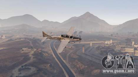 GTA 5 Embraer A-29B Super Tucano House sexta captura de pantalla
