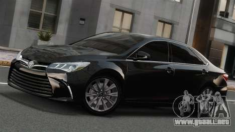 Toyota Camry 2015 USA para GTA 4