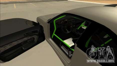Nissan Silvia S14 Drift Monster Energy para visión interna GTA San Andreas