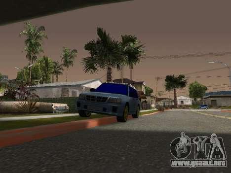Subaru Forester 1998 para GTA San Andreas left