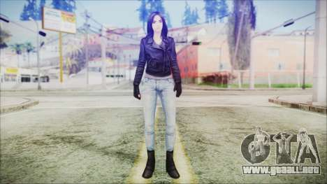 Marvel Future Fight Jessica Jones v1 para GTA San Andreas segunda pantalla