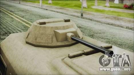 GTA 5 HVY Insurgent Van para la visión correcta GTA San Andreas