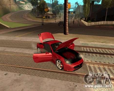 Car Accessories Script v1.1 para GTA San Andreas tercera pantalla