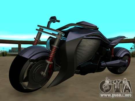 Krol Taurus concept HD ADOM v2.0 para GTA San Andreas vista hacia atrás
