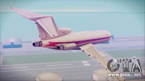Boeing 727-200 Trans World Airlines para GTA San Andreas left