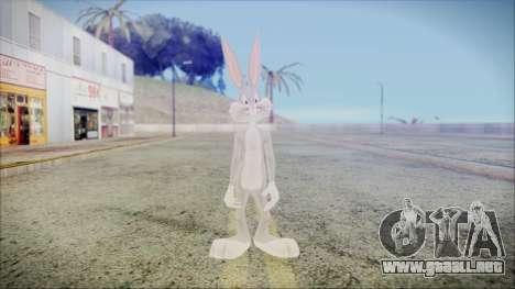 Bugs Bunny para GTA San Andreas segunda pantalla