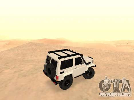 Toyota Machito Off-Road (IVF) 2009 para GTA San Andreas left