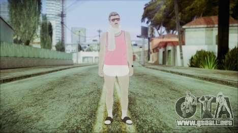 GTA Online Skin 36 para GTA San Andreas segunda pantalla