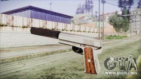 Wildey Magnum para GTA San Andreas segunda pantalla