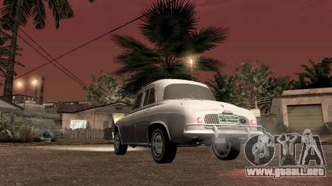 Willys-Overland Gordini III 1966 - Beta para GTA San Andreas vista posterior izquierda