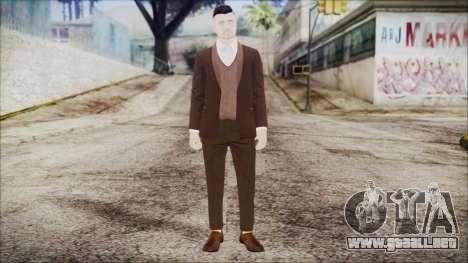 GTA Online Skin 14 para GTA San Andreas segunda pantalla