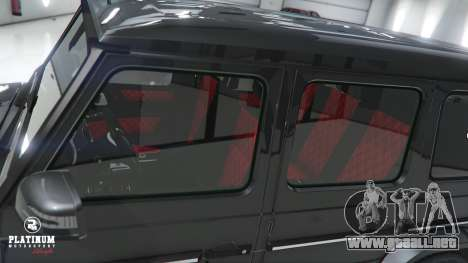 GTA 5 Mercedes-Benz G63 AMG v1 vista lateral derecha