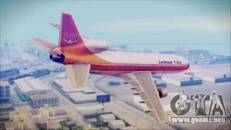 Lockheed L-1011 TriStar Prototype para GTA San Andreas left