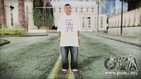 GTA 5 Ballas 1 para GTA San Andreas segunda pantalla
