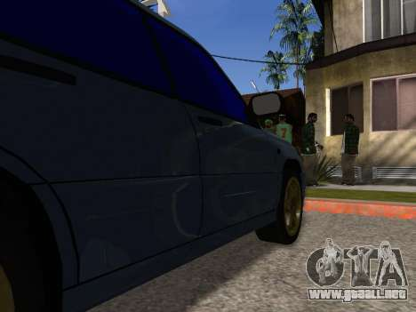 Subaru Forester 1998 para vista inferior GTA San Andreas