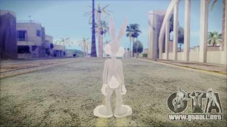 Bugs Bunny para GTA San Andreas tercera pantalla