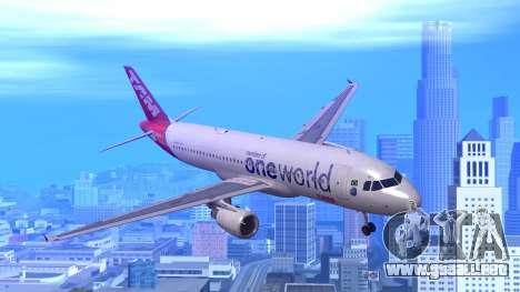 Airbus A320-200 TAM Airlines Oneworld para GTA San Andreas
