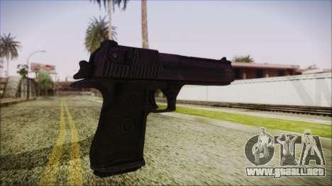 PayDay 2 Deagle para GTA San Andreas tercera pantalla