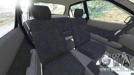 GTA 5 Toyota Corolla 1.6 XEI [black edition] v1.02 vista lateral derecha