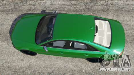 GTA 5 Audi S8 Quattro 2013 vista trasera