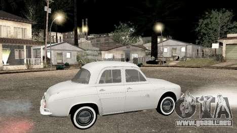 Willys-Overland Gordini III 1966 - Beta para GTA San Andreas left
