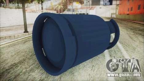 Gas LPG 12 kg para GTA San Andreas tercera pantalla
