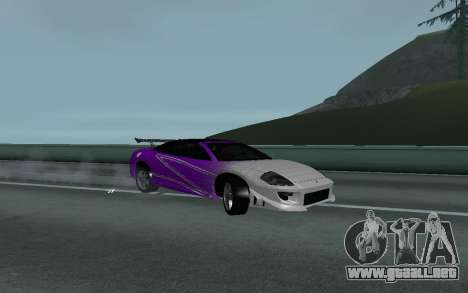 Mitsubishi Eclipse GTS Tunable para la visión correcta GTA San Andreas