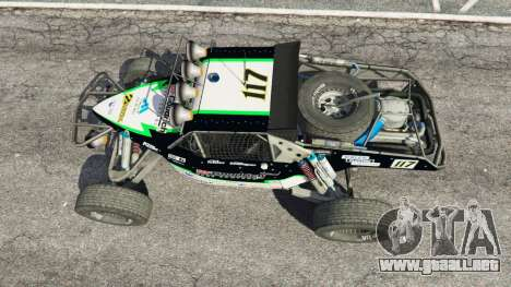 GTA 5 Ickler Jimco Buggy [Beta] vista trasera