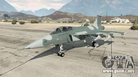 GTA 5 Saab JAS 39 Gripen NG FAB [Beta]